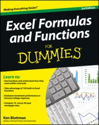 Excel Formulas and Functions For Dummies, 3rd Edition Free Ebook
