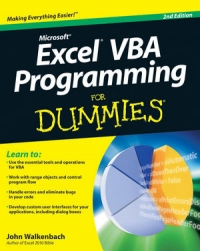 Excel VBA Programming For Dummies, 2nd Edition Free Ebook