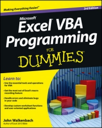 Excel VBA Programming For Dummies, 3rd Edition Free Ebook