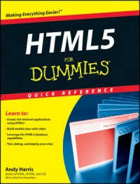 HTML5 For Dummies Quick Reference Free Ebook