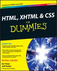 HTML, XHTML & CSS For Dummies, 7th Edition Free Ebook