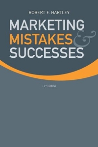 Marketing Mistakes and Successes, 11th Edition Free Ebook