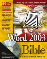 Microsoft Office Word 2003 Bible Free Ebook