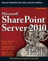 Microsoft SharePoint Server 2010 Bible Free Ebook