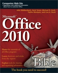 Office 2010 Bible, 3rd Edition Free Ebook