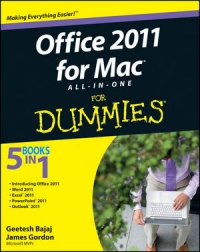 Office 2011 for Mac All-in-One For Dummies Free Ebook