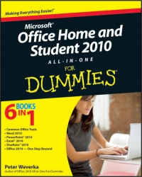Office Home and Student 2010 All-in-One For Dummies Free Ebook