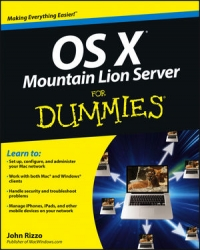 OS X Mountain Lion Server For Dummies Free Ebook