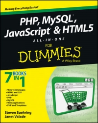 PHP, MySQL, JavaScript & HTML5 All-in-One For Dummies Free Ebook