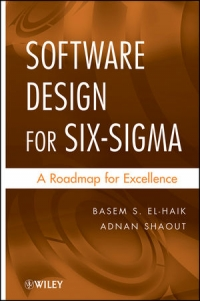 Software Design for Six Sigma Free Ebook