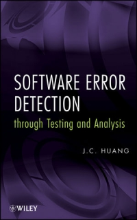 Software Error Detection through Testing and Analysis Free Ebook