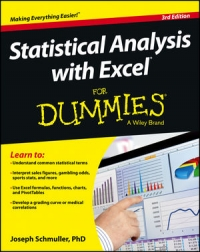 Statistical Analysis with Excel For Dummies, 3rd Edition Free Ebook