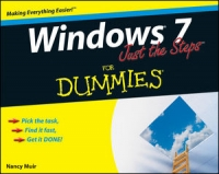 Windows 7 Just the Steps For Dummies Free Ebook
