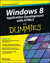 Windows 8 Application Development with HTML5 For Dummies Free Ebook