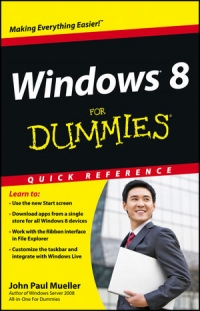 Windows 8 For Dummies Quick Reference Free Ebook
