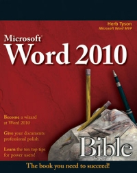Microsoft Word 2010 Bible